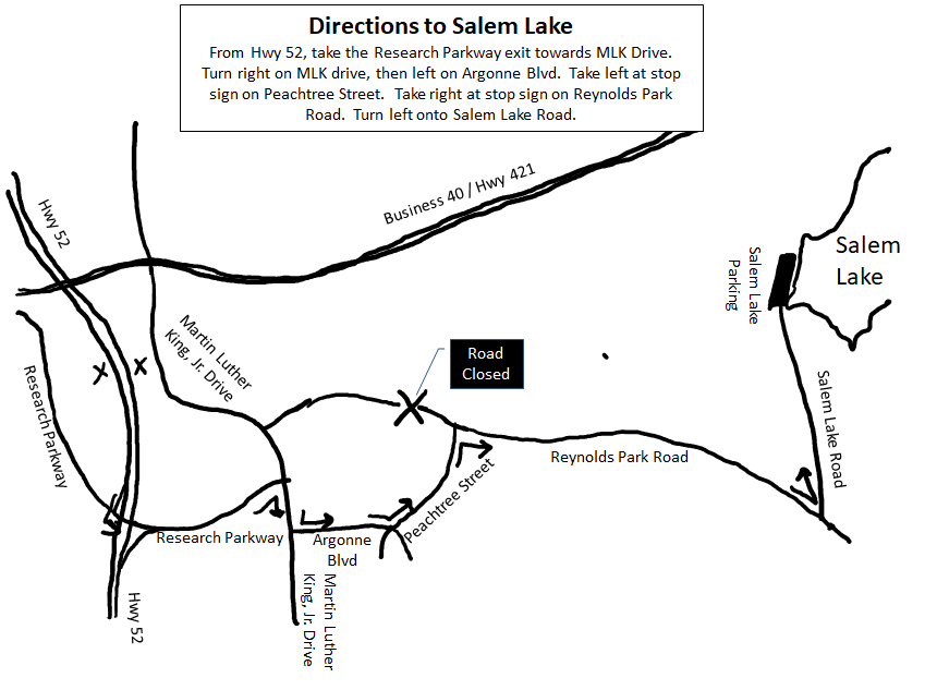 Salem Lake Trail Runs